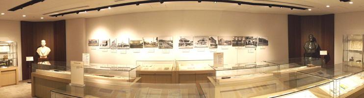 3Fには、明治安田生命のこれまでの歴史を豊富な資料で展示する部屋も設置されている