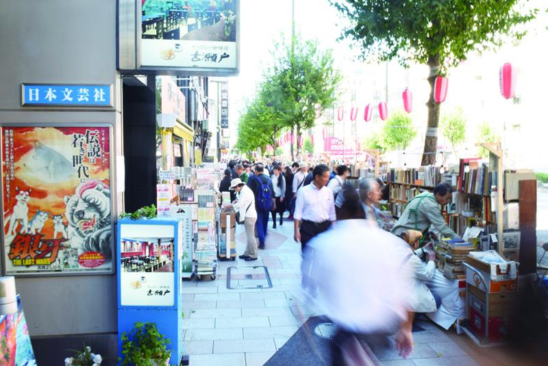 「世界一の本の街」と呼ばれ、実に157軒の古書店がひしめく神保町。再開発によってビジネスエリアとしても活気づいている
