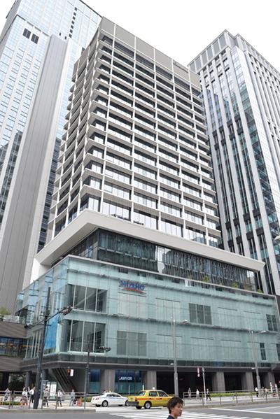 鉄鋼ビル南館は商業施設とサービスアパートメント