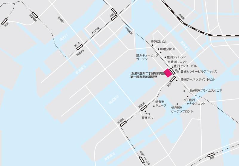 豊洲地図のコピー