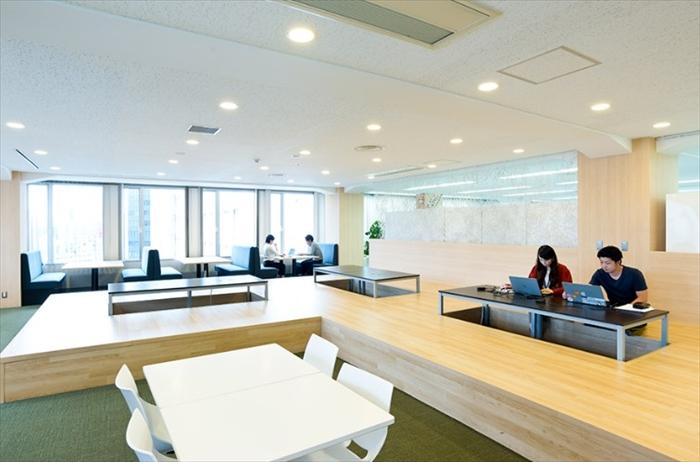 オフィス内のフリースペース