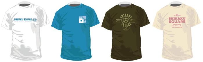 サイトビジットオリジナルTシャツは全4種類