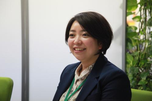 採用担当の小澤氏自身もアミューズメント採用で入社したひとり