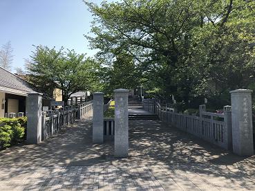 泉岳寺境内にある赤穂義士墓所